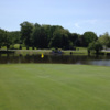 A view of hole #18 at Flying Hills Golf Club