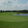 A view of a green at Bungay Brook Golf Club