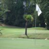 A view of a hole at Lake Murray Golf Center