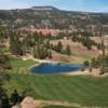 A view of a fairway from the Golf Club at Devils Tower