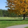 A view of a fairway at Whitevale Golf Club