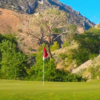 A view of a hole at Cedar Hills Golf Club