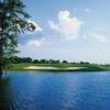 A view over the water of hole #11 at The Island Country Club