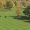 A view of a fairway at Boulder Ridge Country Club