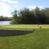A view of a tee at Steeple Chase Golf Club