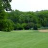 A view from a fairway at Lake Barrington Shores Golf Club