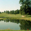 A view over the water from Meadow Ponds Golf Course