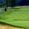 A view of green #12 at Hudson Hills Golf Course