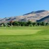 A view of a green at Empire Ranch Golf Course