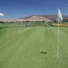A view of a hole at Empire Ranch Golf Course