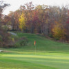 A view of the 18th green at Chesapeake Bay Golf Club from North East