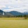 View of a green from the Rising Sun Golf Course at Mountain Sky Guest Ranch