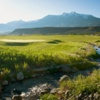 A view from the Rising Sun Golf Course at Mountain Sky Guest Ranch