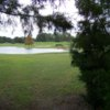 A view over the water from Royal Oaks Golf Club