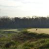 A view from tee #1 at Wolf Run Golf Club