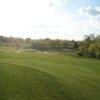 A sunset view of the 5th fairway at Planter's Row Golf Links