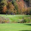 A fall view from Diamond In The Ruff Golf Club