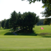 A view of the 18th green at Beverly Golf & Tennis Club