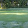 A view of the 5th green at Maplewood Golf Club