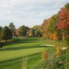 A view of green #5 at Bellevue Golf Club