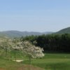 A spring view from Greene Hills Golf Club
