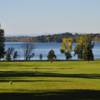A view from a tee at Alburg Country Club