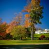 A fall view of a hole at Oakley Country Club