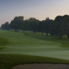 A view of a green and a fairway at Belmont Country Club