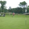 A view of a hole at Rockport Golf Club