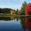 A view over the water from Hickory Hills Golf Course