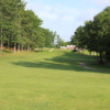 A view from a fairway at Pine Valley Golf Links