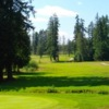 A sunny day view from Alberni Golf Club