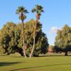 A view of a hole at Barbara Worth Golf Resort