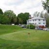 A view of the practice putting green at Strawberry Valley Golf Club