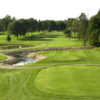 A view from a tee at Springdale Golf Course