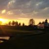 An evening view from Cheboygan Golf & Country Club