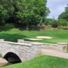 A view over a bridge at Algonquin Golf Club