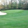 A view of a green at Holley Brook Golf Course