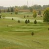 A view of a tee at Fanshawe Golf Course