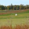 A view of a green at Oak Brook Golf Club