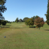 A view from a tee at Brookwood Golf Course