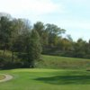 A view of green #7 at Fontenelle Hills Country Club