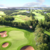 Dundarave GC: Aerial view of #7