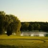 A view from the 1st tee at Quarry from Peninsula Lakes Golf Club