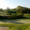 A view of a green at St. Catharines Golf and Country Club