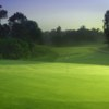 A view of a green at Neumann Golf Course