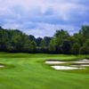 A view of a hole protected by bunkers at Championship Course from Golf Club at Yankee Trace