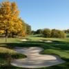 A fall view of a hole at NCR Country Club