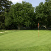 A view of a green at McDaniel College Golf Club