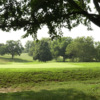 A view of a hole at McDaniel College Golf Club